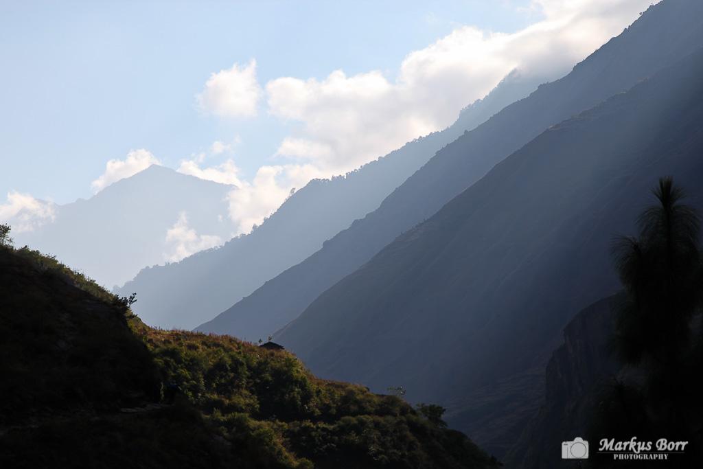 Im Tal der Manaslu Runde