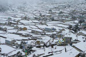 Felder in Khumjung