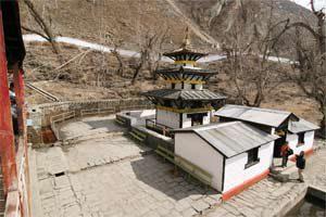 Tempelanlage in Muktinath