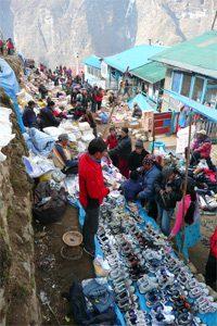 Tibet Markt in Namche Bazar