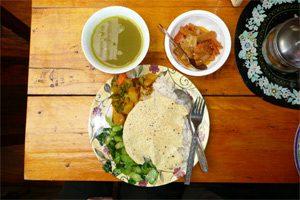 Lecker nepalesisches Essen