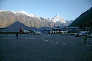 Flughafen in Lukla