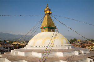 Stupa von Bodnath