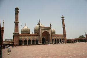 Jama Masjid Moschee in Delhi