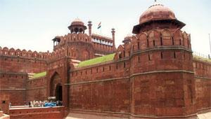 Rotes Fort in Delhi