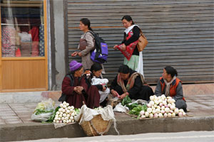 Frauen in Leh