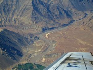 Blick auf den Indus