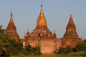 Pagoden in Bagan