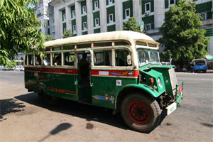 Alter Bus in Yangon