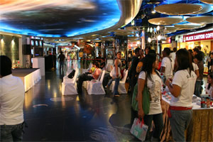 Einkaufscenter ins Bangkok