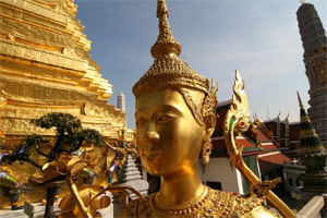 Figur im Wat Phra Keo