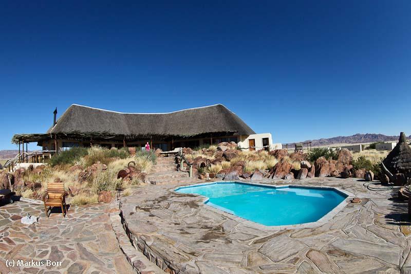 Desert Homestead Haupthaus mit Pool