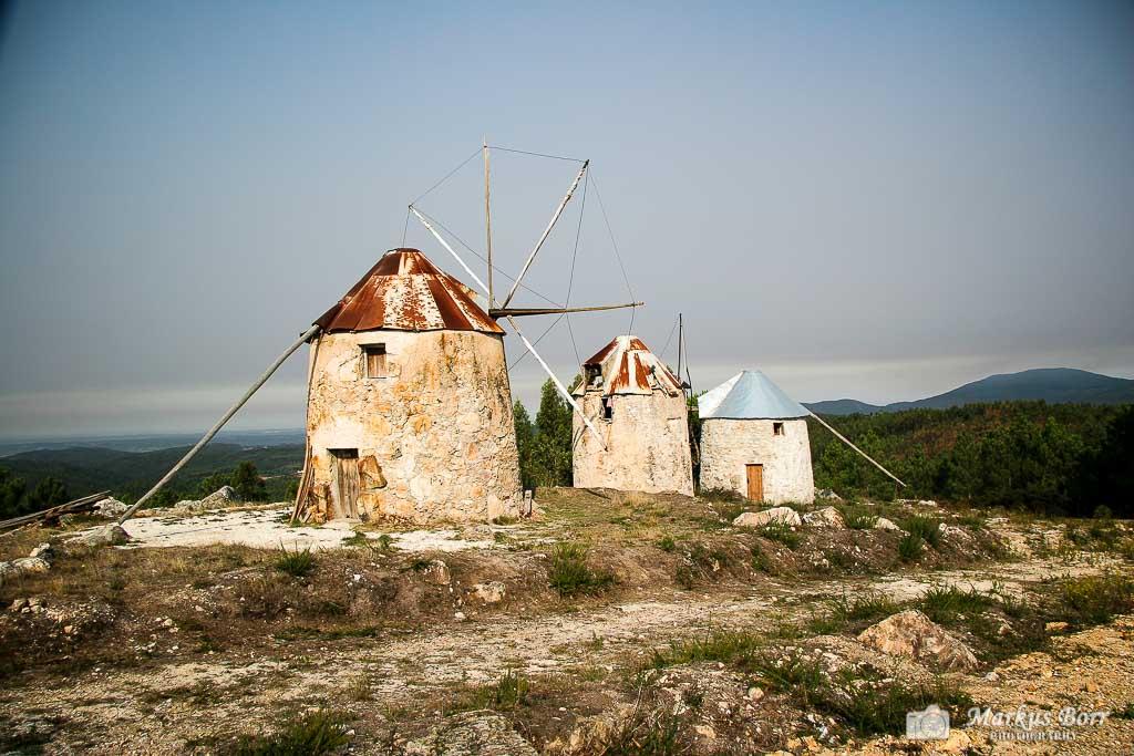 Windmühlen bei Gavinhas
