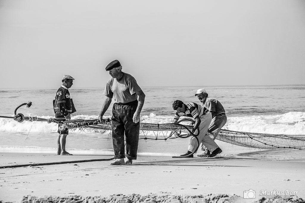 Fischer in Praia da Mira