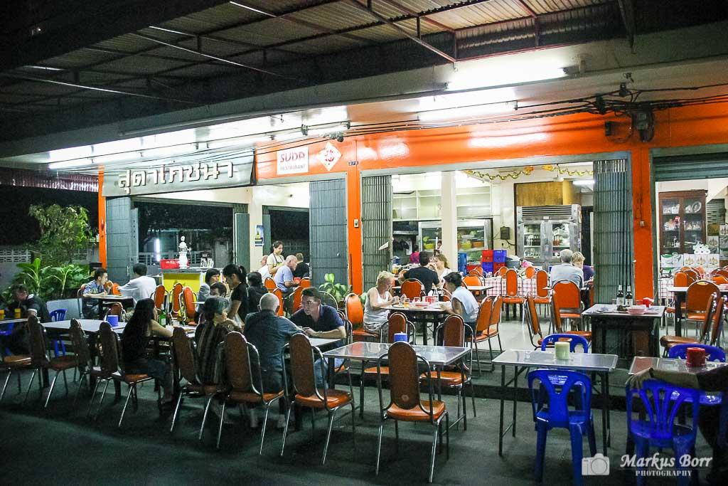 Restaurant Suda im Bangkok