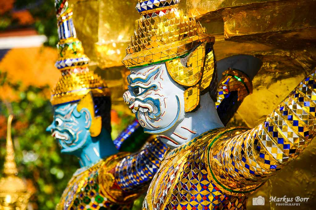 Figur im Wat Prah Keo
