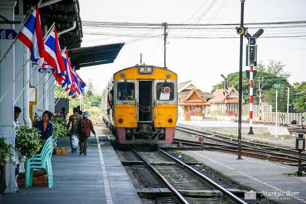 Bahnhof in Ayutthaya