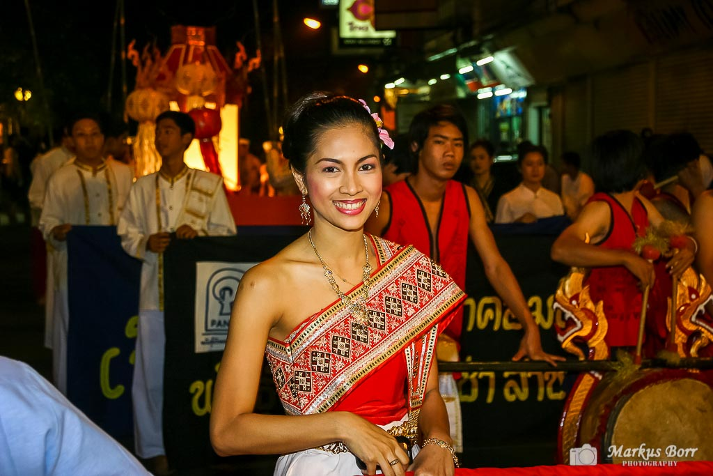 Loy Krathong Fest in Chiang Mai