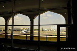 Flughafen in Muscat Oman