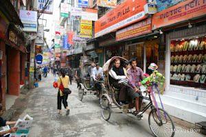 Straßen von Kathmandu