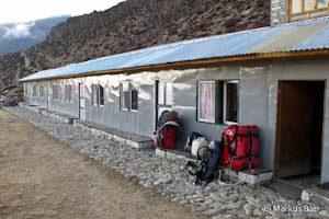 Unterkunft in Dingboche