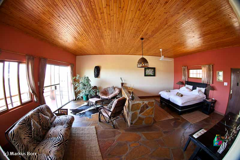 Zimmer in der Rustig Toko Lodge