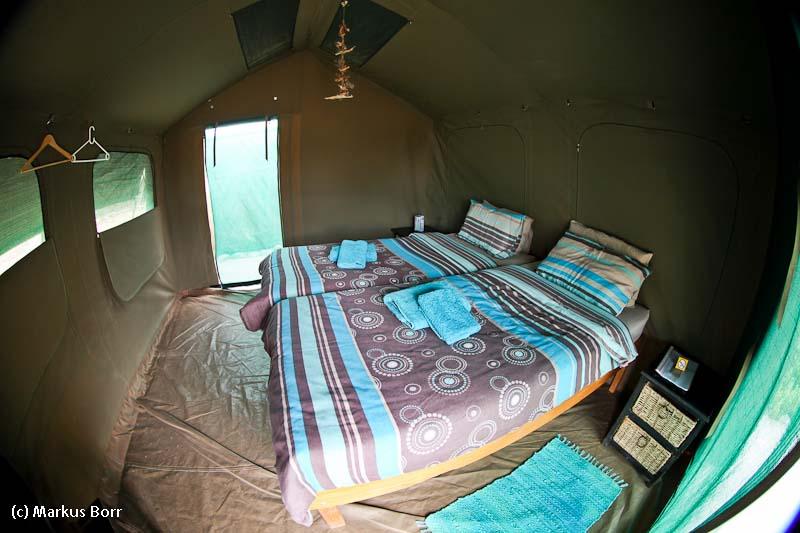 Im Zelt des Abadi Mountain Camps