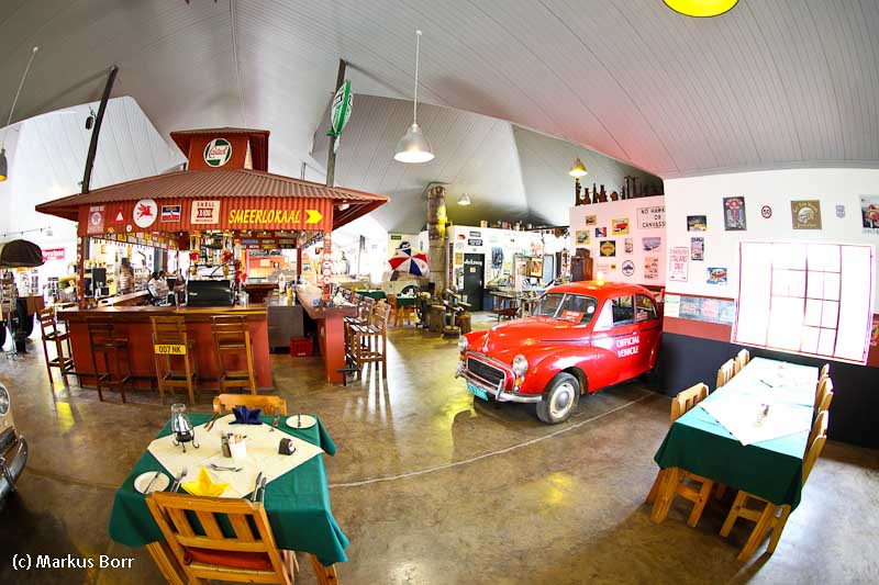 Essen im Automuseum Canon Roadhouse