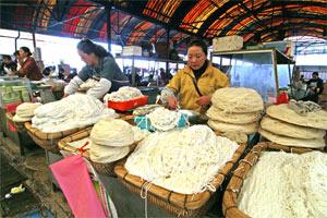 Markt in Zhongdian