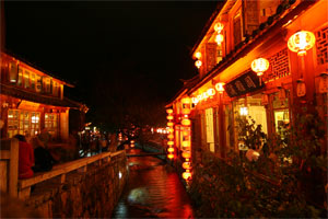 Nacht in Lijiang