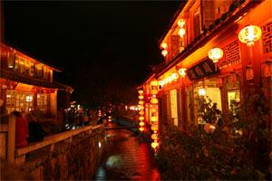 Nacht in Lijiang