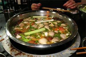 Hot Pot in Chendu