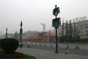 Mao-Statue in Chengdu