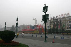 Mao-Statue in Chengdu