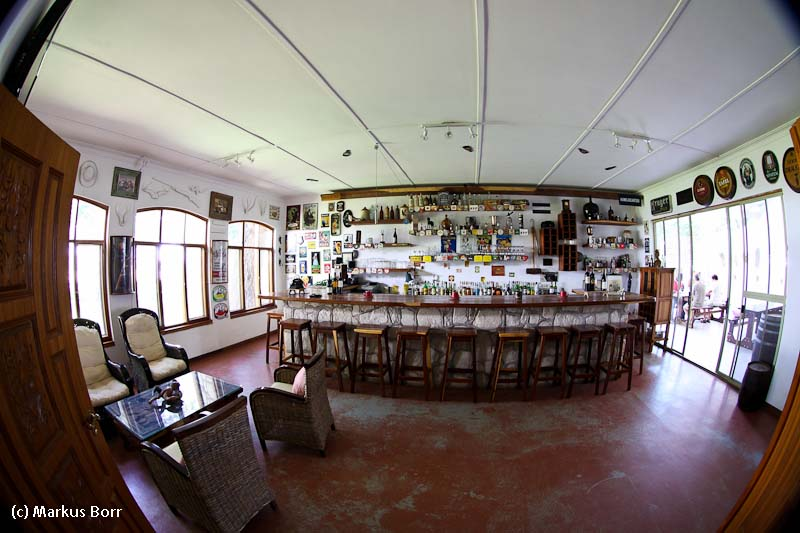 Bar im Kalahari Farm House