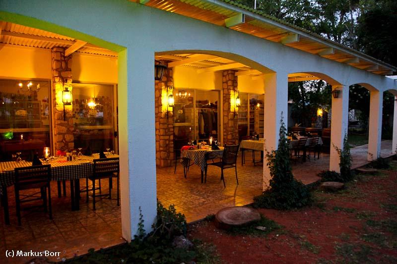 Abendstimmung Kalahari Farm House