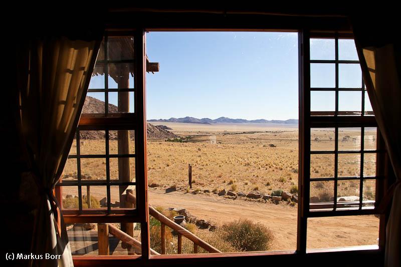 Blick aus dem Fenster Eagles Nest Klein Aus Vista