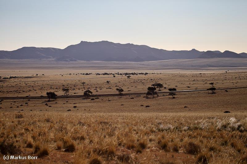Landschaft beim Eagles Nest Klein Aus Vista