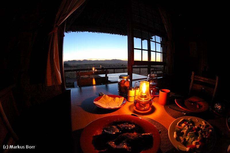 Abendessen im Eagles Nest Klein Aus Vista